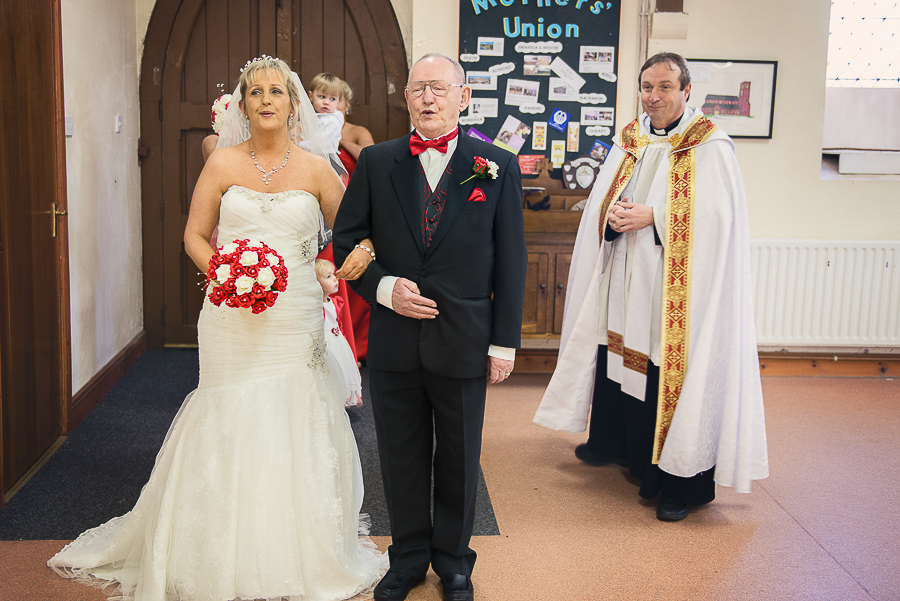 WEDDING CEREMONY IN ST SAMLET'S CHURCH, LLANSAMLET, Wedding Photographers Swansea , Wedding photographers south wales, swansea wedding photographer-17