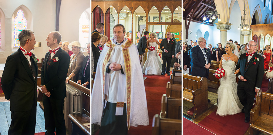 WEDDING CEREMONY IN ST SAMLET'S CHURCH, LLANSAMLET, Wedding Photographers Swansea , Wedding photographers south wales, swansea wedding photographer-18