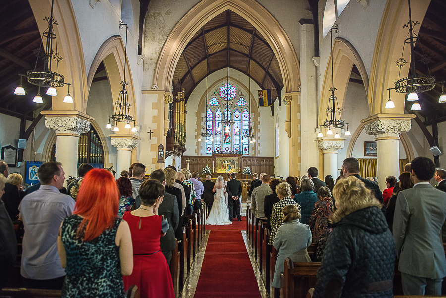 WEDDING CEREMONY IN ST SAMLET'S CHURCH, LLANSAMLET, Wedding Photographers Swansea , Wedding photographers south wales, swansea wedding photographer-23