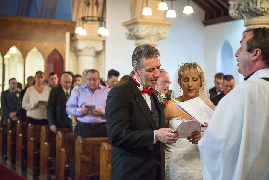 WEDDING CEREMONY IN ST SAMLET'S CHURCH, LLANSAMLET, Wedding Photographers Swansea , Wedding photographers south wales, swansea wedding photographer-33