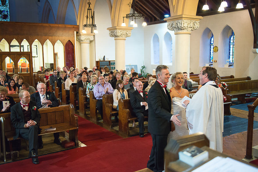 WEDDING CEREMONY IN ST SAMLET'S CHURCH, LLANSAMLET, Wedding Photographers Swansea , Wedding photographers south wales, swansea wedding photographer-36