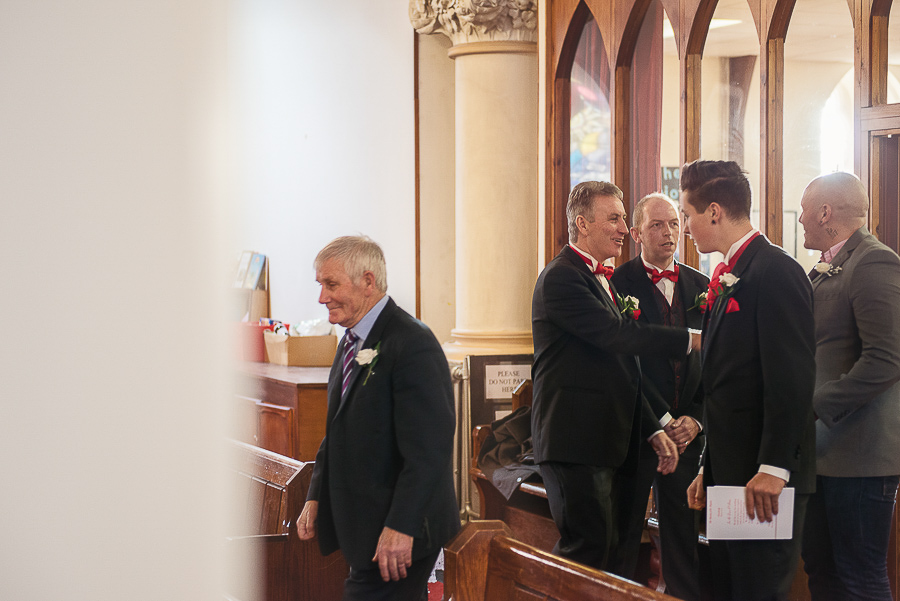 WEDDING CEREMONY IN ST SAMLET'S CHURCH, LLANSAMLET, Wedding Photographers Swansea , Wedding photographers south wales, swansea wedding photographer-5