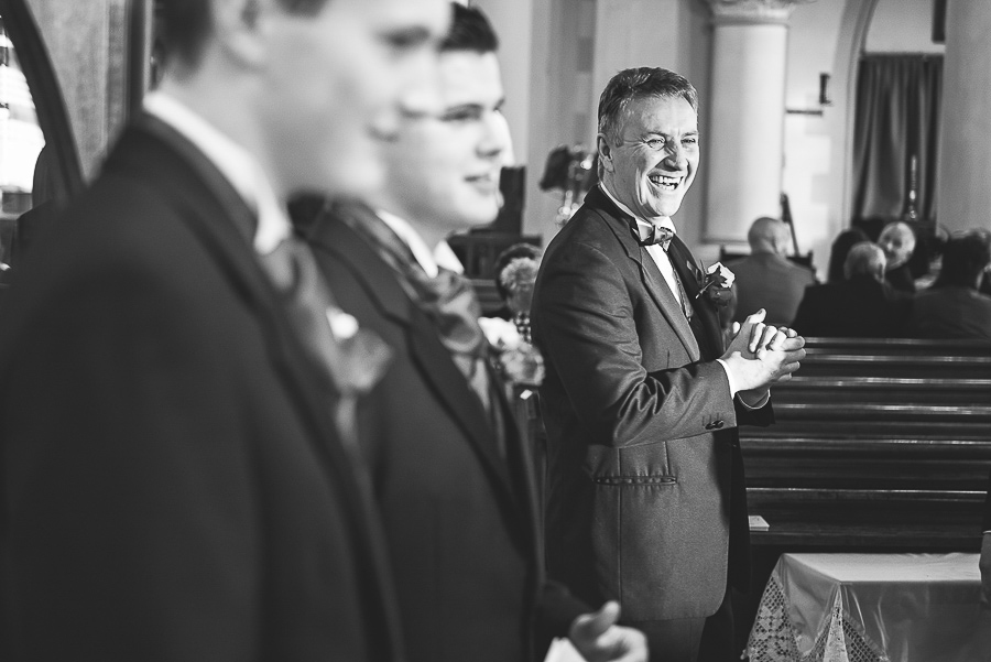 WEDDING CEREMONY IN ST SAMLET'S CHURCH, LLANSAMLET, Wedding Photographers Swansea , Wedding photographers south wales, swansea wedding photographer-8