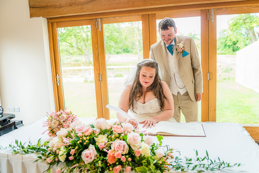 Wedding photographer @ Oldwalls Leisure, Gower-113