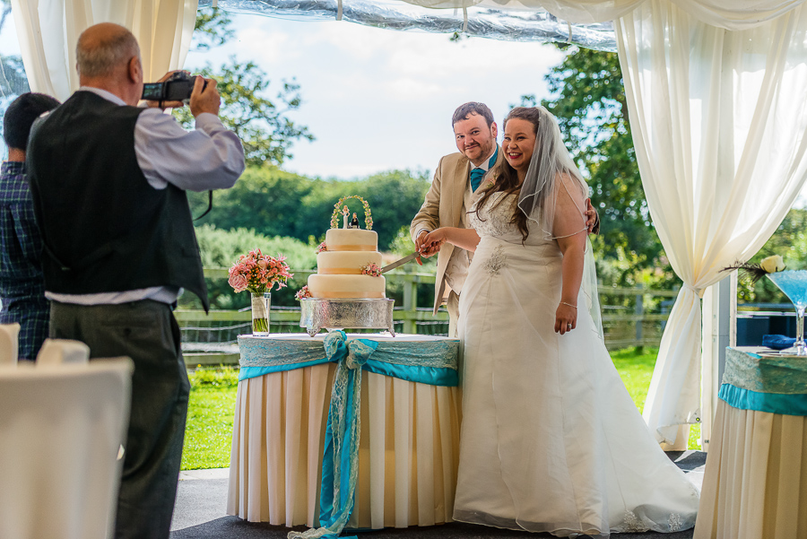 Wedding photographer @ Oldwalls Leisure, Gower-215