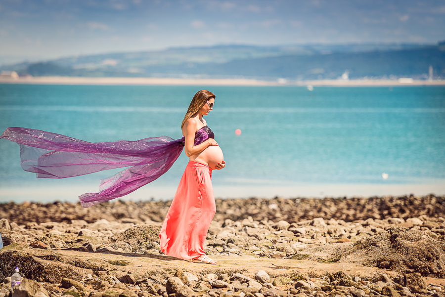 pregnancy photo session swansea photographer-36
