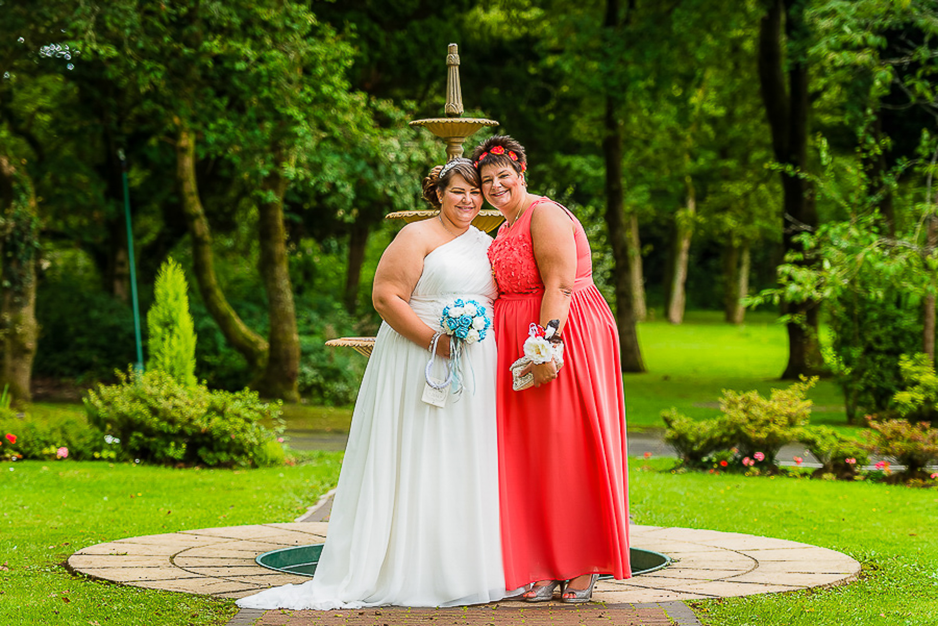 wedding Manor Park Country House Clydach